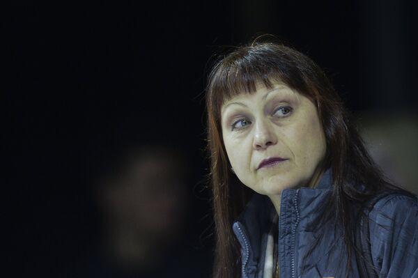 Российский тренер Марина Зуева
