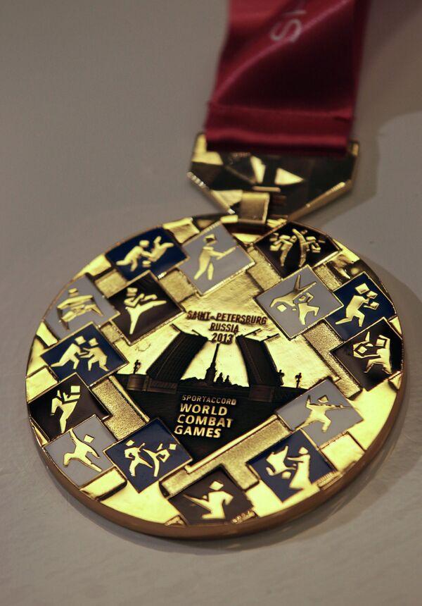 Медали Всемирных игр боевых искусств