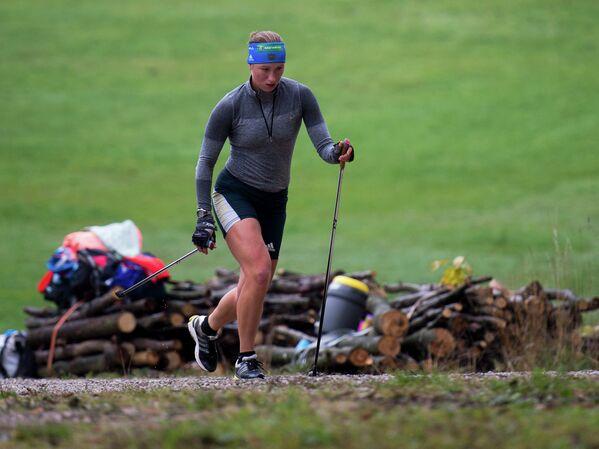Российская биатлонистка Ольга Подчуфарова