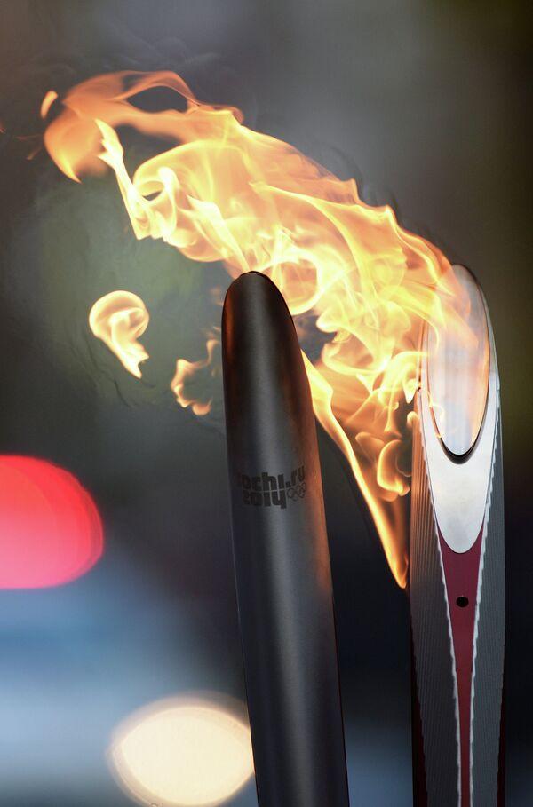 Эстафета олимпийского огня
