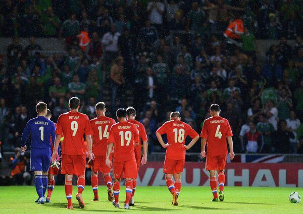 Футбол. Отборочный тур ЧМ-2014. Матч Северная Ирландия - Россия