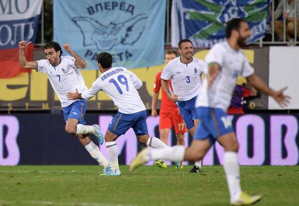 Футболисты сборной Азербайджана