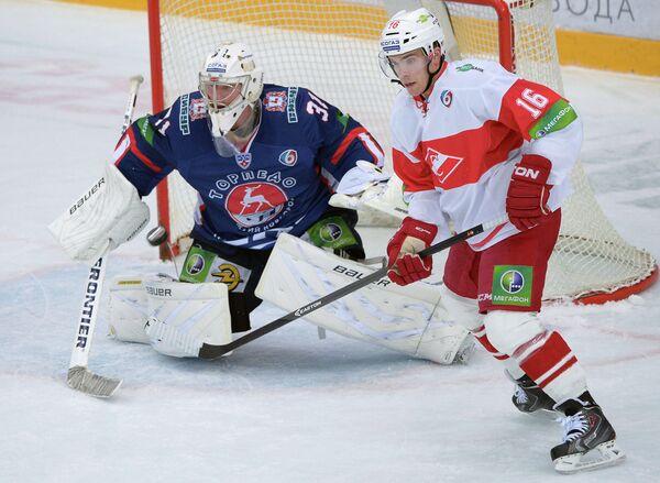 Виталий Коваль (слева) и Мэтт Андерсон
