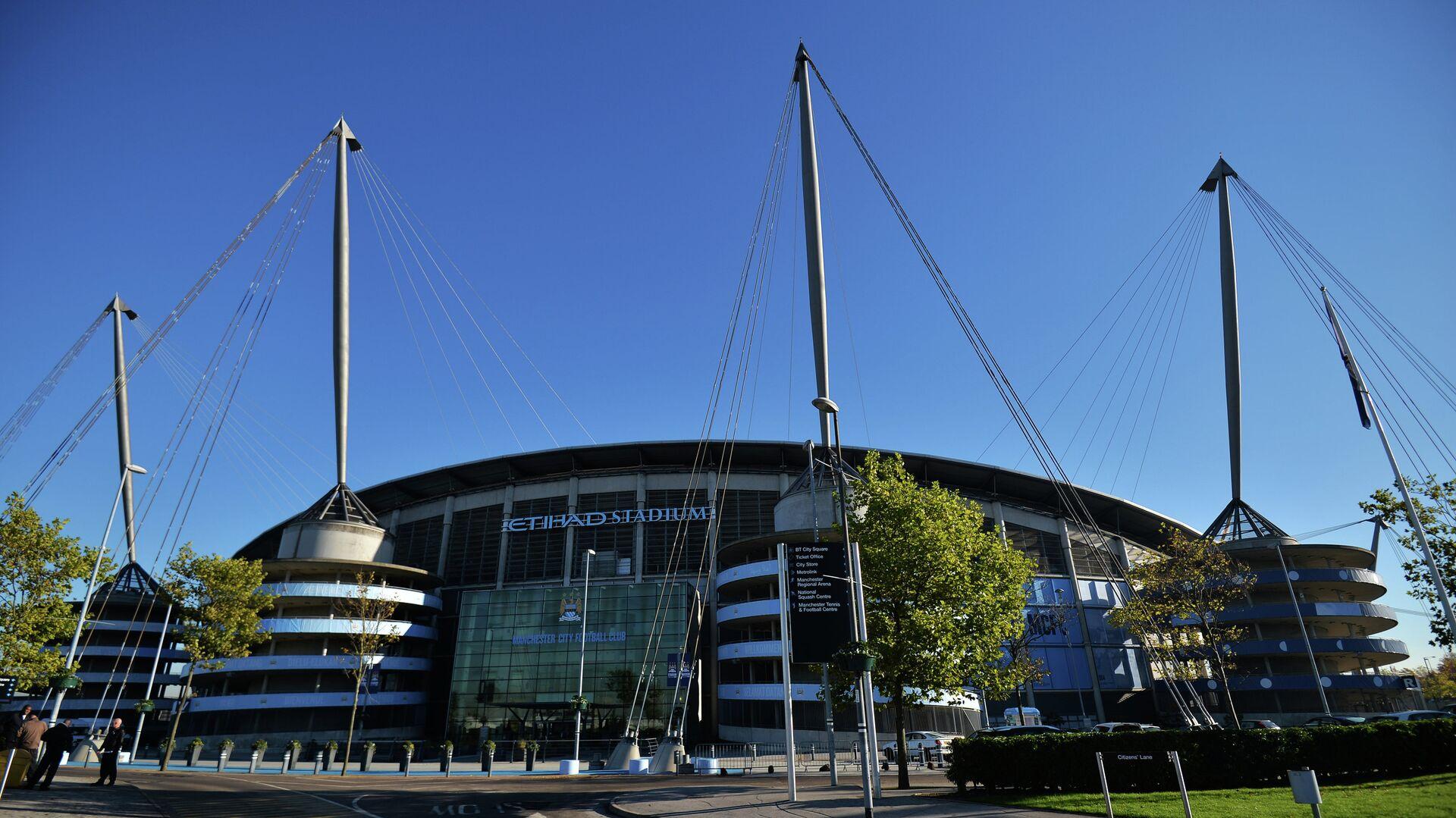 Стадион футбольного клуба Манчестер Сити Этихад Стэдиум (Etihad Stadium) в Манчестере - РИА Новости, 1920, 06.04.2021