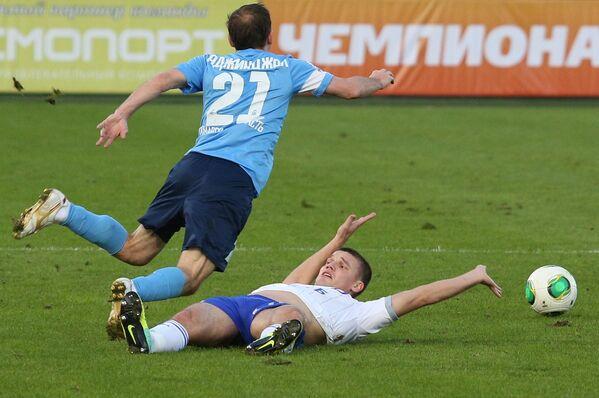 Руслан Аджинджал (слева) и Игорь Денисов