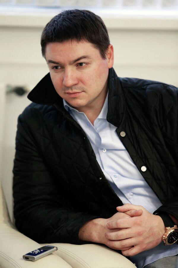 Генеральный директор стадиона Арена-Химки Александр Зайцев