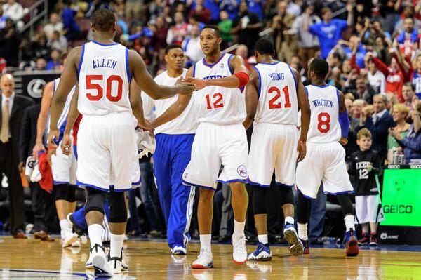 Баскетболисты Филадельфии