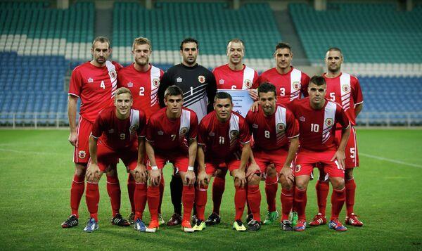 Футболисты сборной Гибралтара