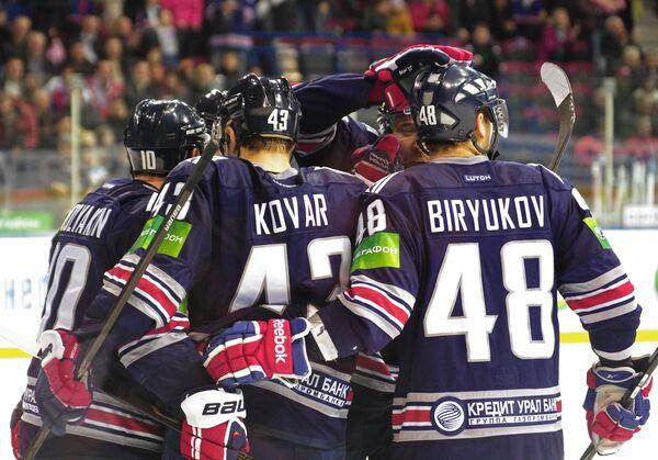 Хоккеисты магнитогорского Металлурга