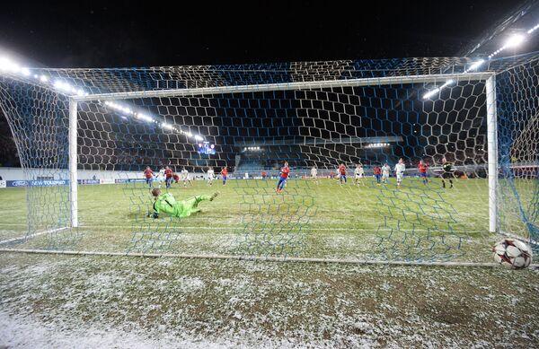 Игровой момент матча ЦСКА - Бавария
