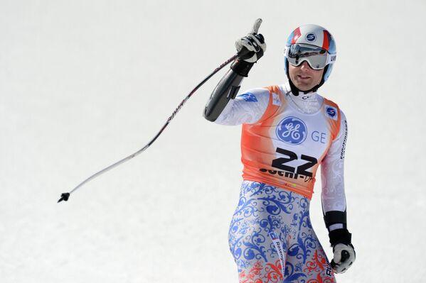 Россиянин Александр Глебов