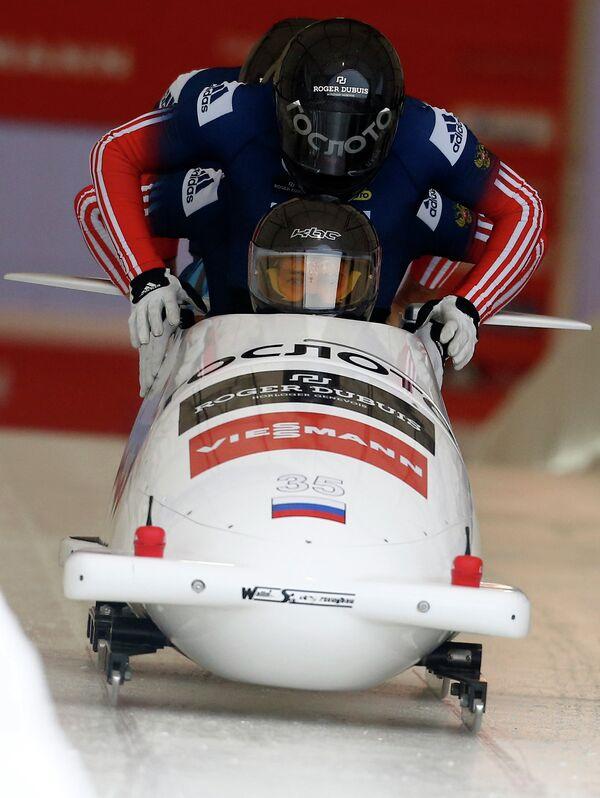 Экипаж Никиты Захарова (Россия)