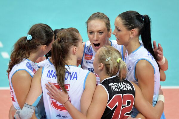Волейболистки ЖВК Динамо (Москва)
