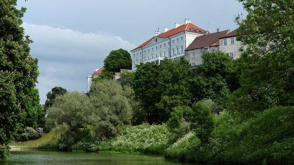 Здание парламента Эстонии