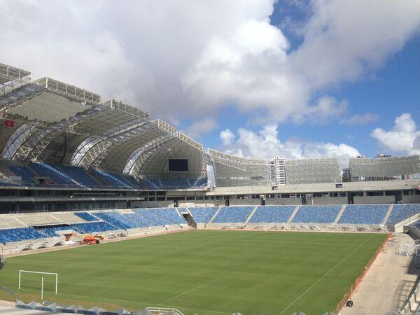 Стадион Натал в Бразилии