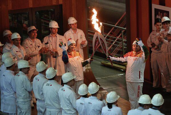 Эстафета Олимпийского огня. Челябинск. День 1