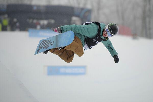 Сноубордистка Ли Шуан