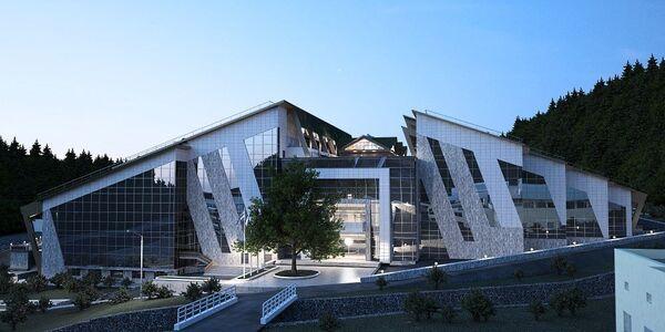 Общественно-культурный центр Галактика в Сочи