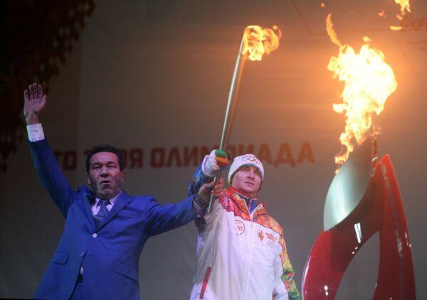 Мэр Сызрани Николай Лядин и Рамиль Юлдашев