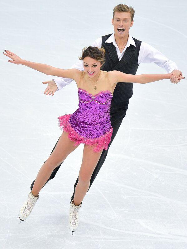 Екатерина Рязанова и Илья Ткаченко. Танцы на льду. Короткая программа