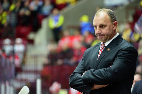 Главный тренер молодежной сборной Канады Брент Саттер