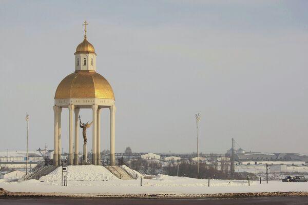 Часовня при въезде в Белгород