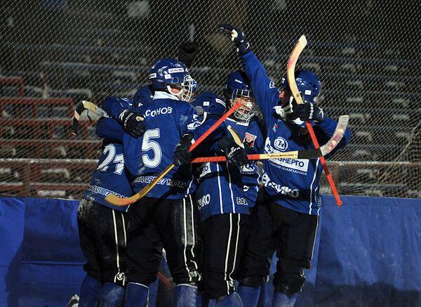 Хоккеисты Байкал-Энергия