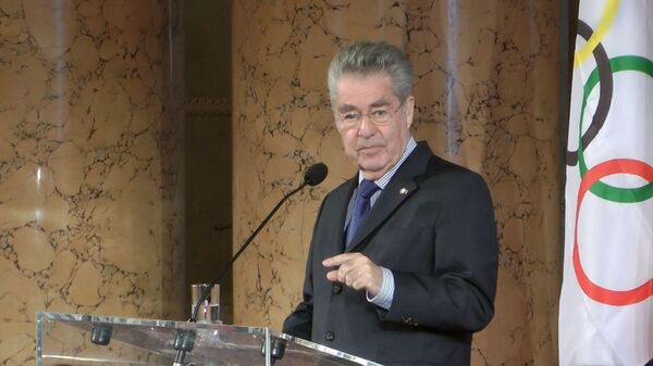 Президент Австрии дал напутствие спортсменам перед Олимпиадой в Сочи