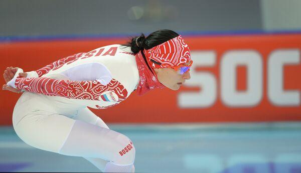 Анна Чернова (Россия) Конькобежный спорт. Тренировки