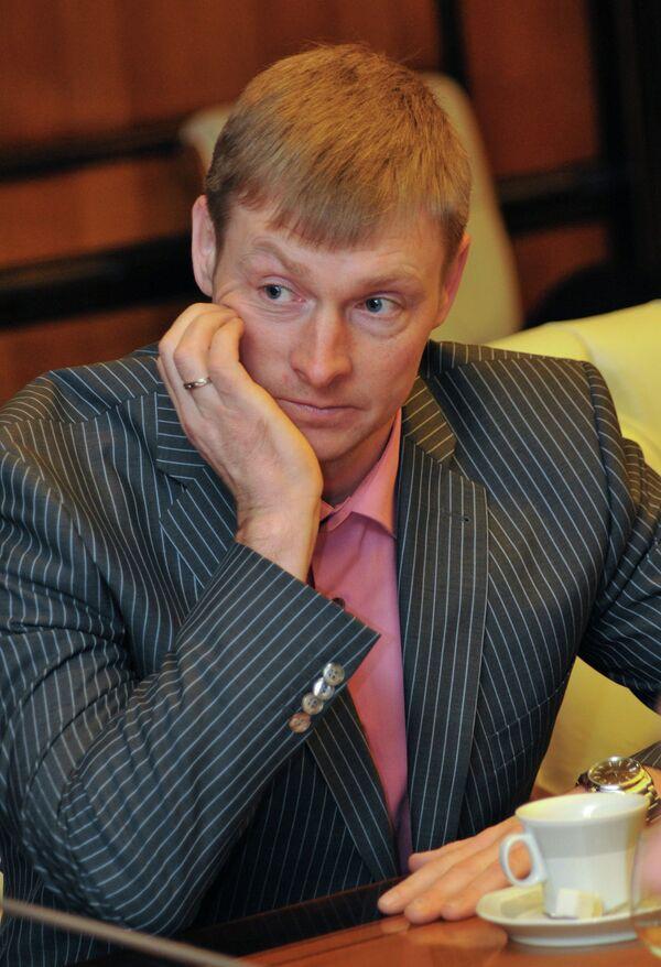 Бобслеист Александр Зубков