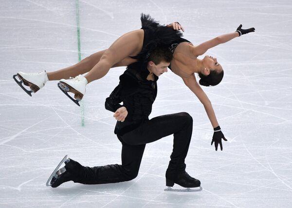 Елена Ильиных и Никита Кацалапов (Россия)