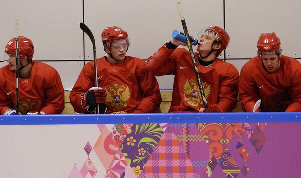 Вячеслав Войнов, Владимир Тарасенко, Александр Семин и Евгений Малкин