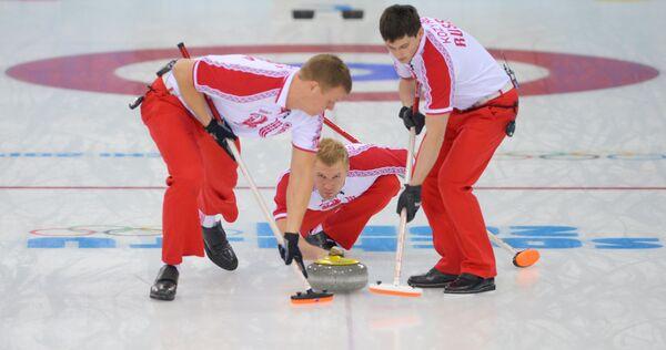 Петр Дрон, Алексей Стукальский и Александр Козырев (слева направо)