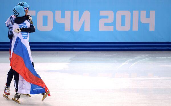 Виктор Ан и Владимир Григорьев