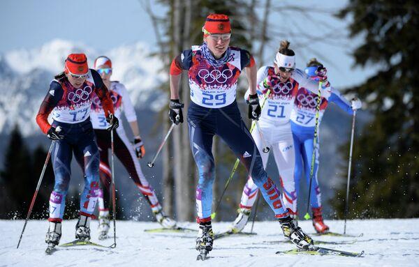 Юлия Иванова (Россия), Наталья Жукова (Россия), Коралин Юг (Франция) и Марина Пиллер