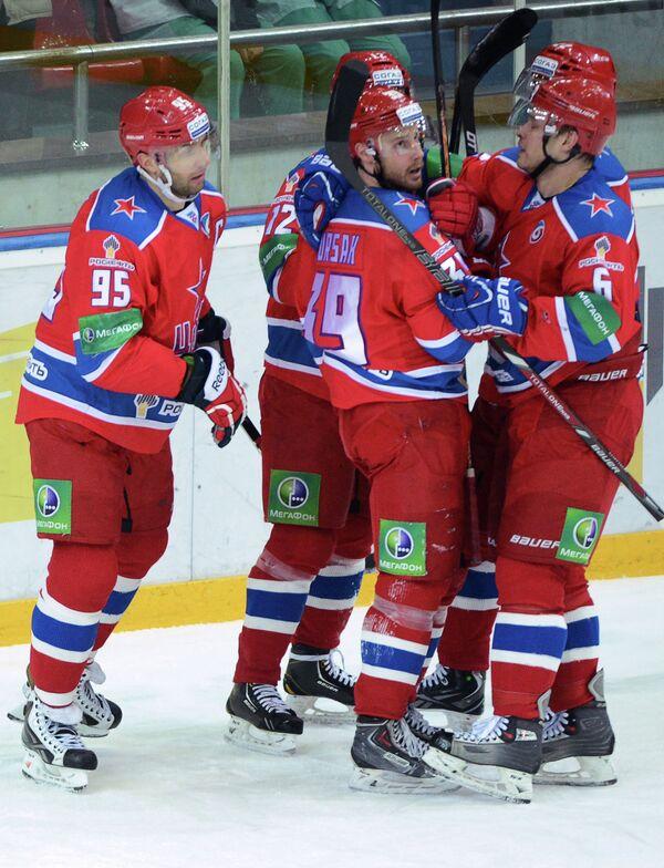 Игроки цска фото и имена хоккей