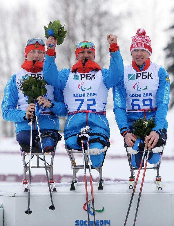 Григорий Мурыгин, Роман Петушков и Александр Давидович (слева направо)