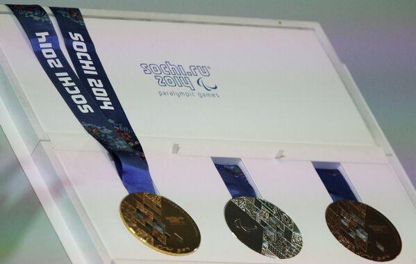 Медали Паралимпиады-2014