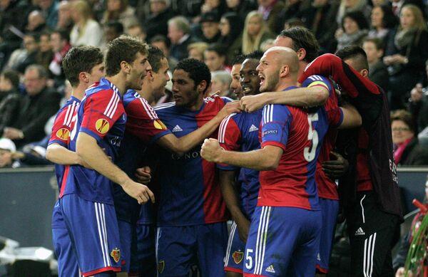 Футболисты Базеля