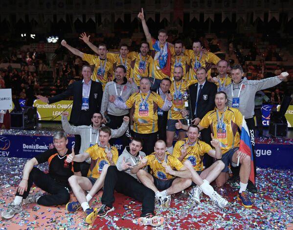 Волейбольная команда Белогорье