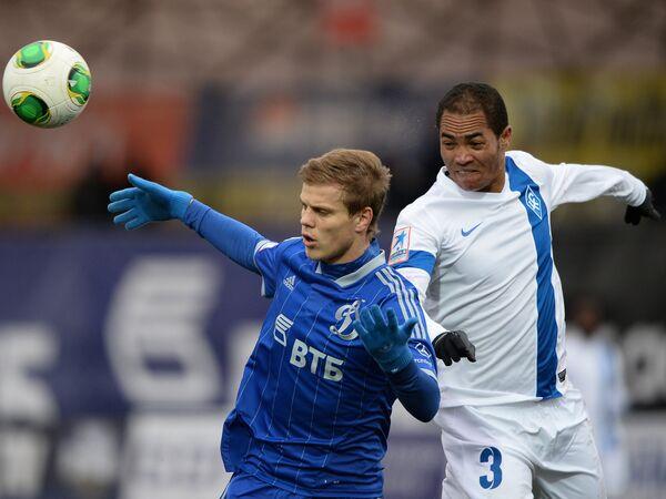 Александр Кокорин (слева) и Жозе Надсон