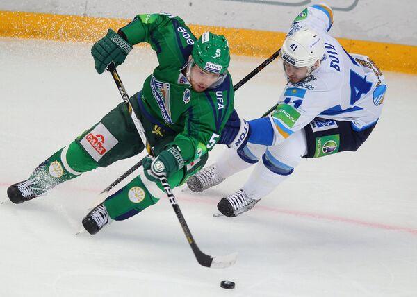 Андрей Анкудинов (слева) и Дастин Бойд