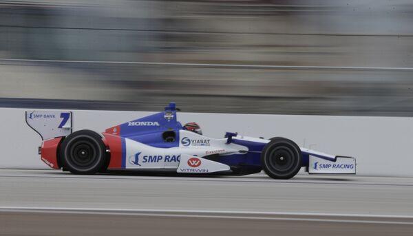 Михаил Алешин пилотирует болид команды SMP Racing