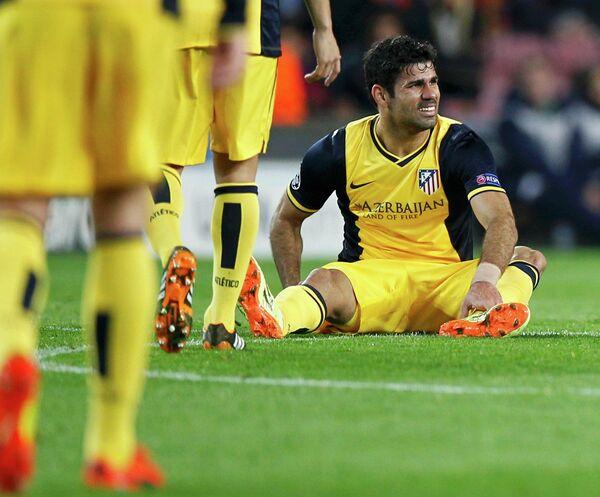 Нападающий Атлетико Мадрид Диего Коста