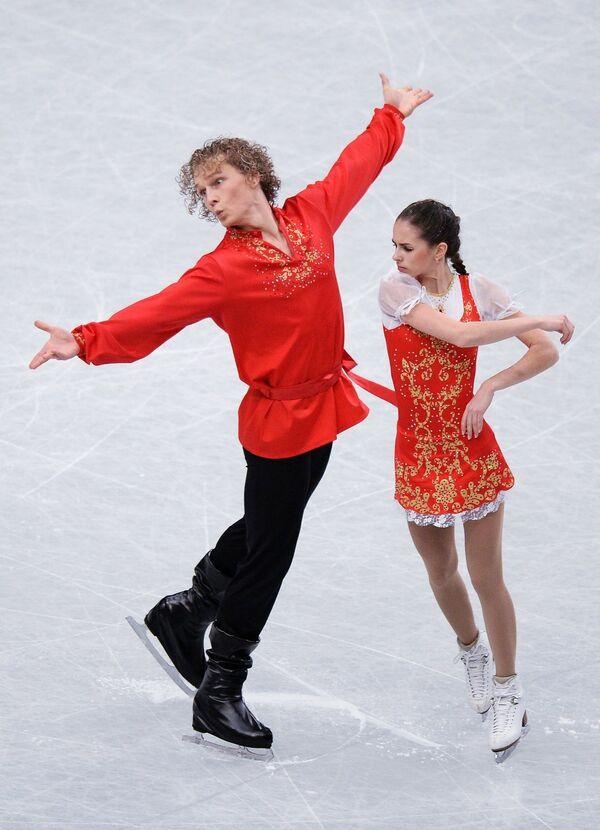 Наталья Забияко и Александр Забоев