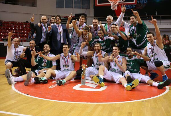 Баскетболисты УНИКСа стали обладателями Кубка России