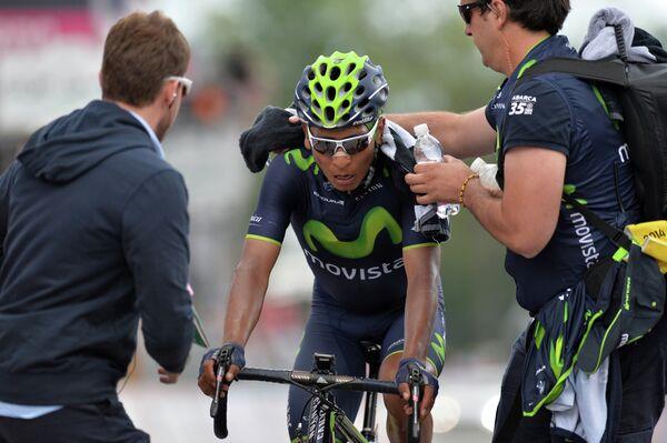 Колумбийский велогонщик Наиро Кинтана