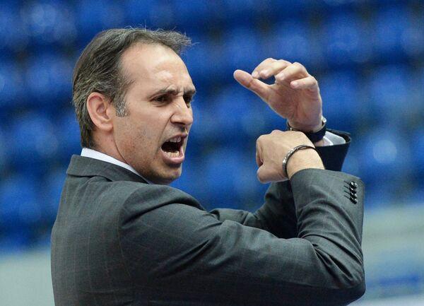 Главный тренер баскетбольного клуба Нижний Новгород Зоран Лукич