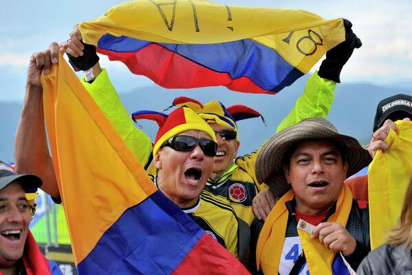 Колумбийские болельщики