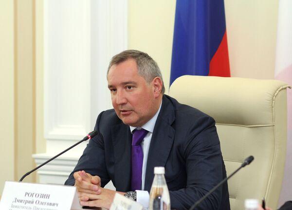 Визит заместителя председателя правительства РФ Д.Рогозина в Крым